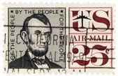 U.S. President Lincoln — Foto Stock