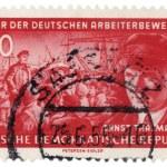 Ernst Telman portrait — Stock Photo