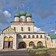 Resurrection Cathedral in Tutaev, Russia — Stock Photo