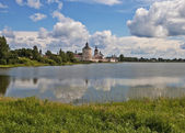 Ancient Cyril-Belozersky monastery, northern Russia — Stock Photo
