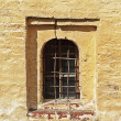 Window in ancient russian monastery — Stockfoto