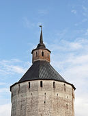 Tower of ancient monastery — Stock Photo