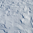 Windy snow surface — Stock Photo