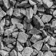 Grey gravel background — Stock Photo