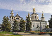 Assumption Cathedral in Great Ustyug — Stock Photo