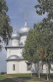 Church of the Assumption in Belozersk — Zdjęcie stockowe