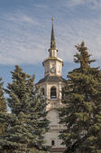 Belfry of Orthodox Cathedral — Stock Photo