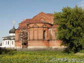 Trinity Cathedral in Yuriev-Polsky — Stock Photo