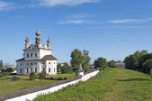 Ancient Monastery of Archangel Michael in Yuriev-Polsky — Stock Photo