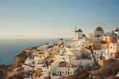 Unique Santorini architecture. Greece — Stock Photo