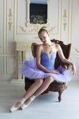 Professional ballet dancer — Stock Photo