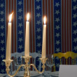 Three candles - Foto Stock