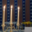 Three candles - Stockfoto