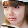 Children&#039;s tears - Stock Photo