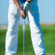 Man playing golf — Stock Photo #27710083