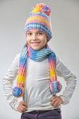 Kış modası — Stok fotoğraf