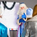 Christmas coach — Stock Photo