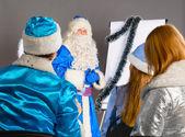 Jul tränare — Stockfoto