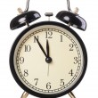 Stock Photo: Analog alarm clock