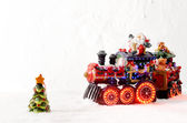 Christmas toys — Stock Photo