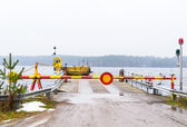 Lake ferry — Stock Photo