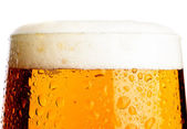Birra lager — Foto Stock
