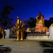 Buddhist monument - Stock Photo