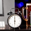 Beer party after working day — Stock Photo