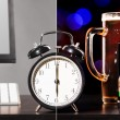 Stock Photo: Beer party after working day