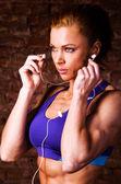 Güçlü kadın — Stok fotoğraf