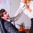 Seducing a boss — Stock Photo #22921730