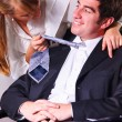 Seducing a boss — Stock Photo #22926650