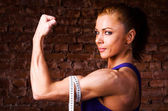 Strong woman — Stock Photo