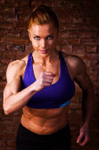 Strong woman — Foto Stock