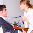Seducing a boss — Stock Photo #23865293