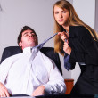 Seducing a boss — Stock Photo #23865485
