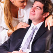Seducing a boss — Stock Photo #23865895