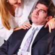Seducing a boss — Stock Photo #23866101