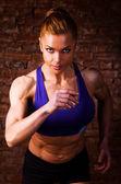 Mujer fuerte — Foto de Stock