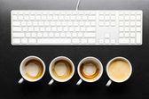 Working hours. — Foto Stock