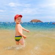 Young boy on beach — Stock Photo #27844917