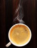 Fresh espresso — Stock Photo