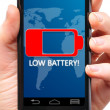 Low battery — Stock Photo