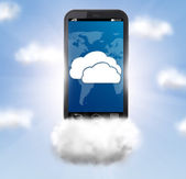 Cloud technologies — Stock Photo