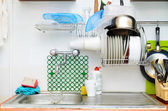 Old style kitchen — Stock Photo