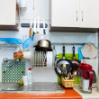 Stock Photo: Old style kitchen