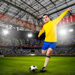 Soccer player — Stock Photo #32023577
