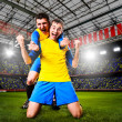 Soccer players — Stock Photo #32023609