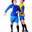 Stock Photo: Soccer players