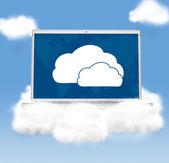 облачные технологии — Стоковое фото